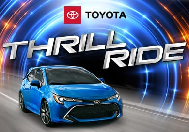Toyota Thrill Ride